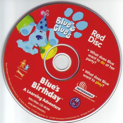 Blue's Clues: Blue's Birthday Adventures (2 CD set)