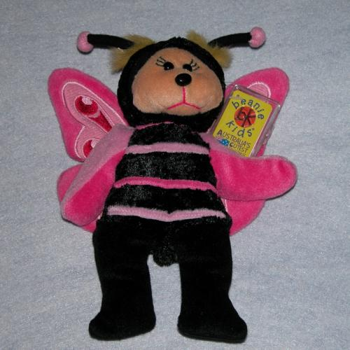 BEANIE KIDS - MOOKY THE BUTTERFLY BEAR