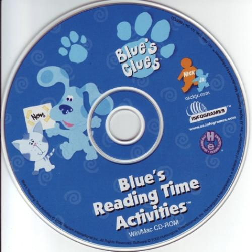 Blue's Clues: Blue's Reading Time Activities