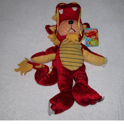BEANIE KIDS - SIZZLE THE CHINESE DRAGON BEAR
