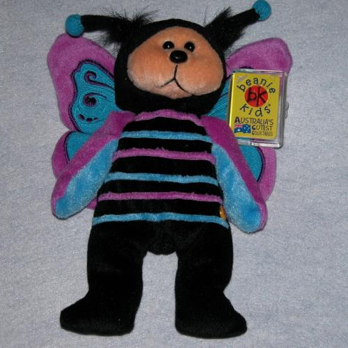 BEANIE KIDS - HOVER THE BUTTERFLY BEAR