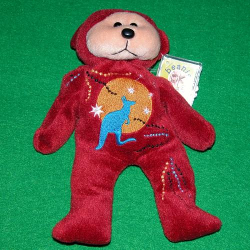 BEANIE KIDS - OOHLAROO THE AUSSIE BEAR