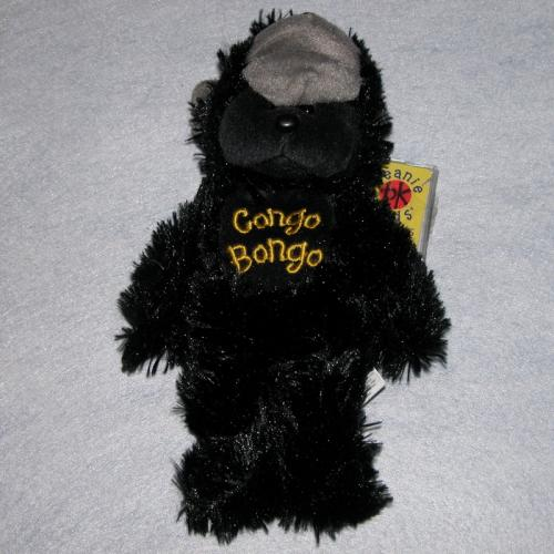 BEANIE KIDS - CONGO BONGO THE GORILLA BEAR