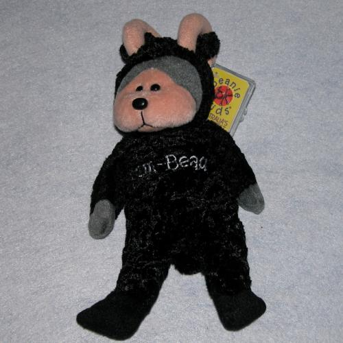 BEANIE KIDS - RAM BEAU THE BLACK LAMB BEAR
