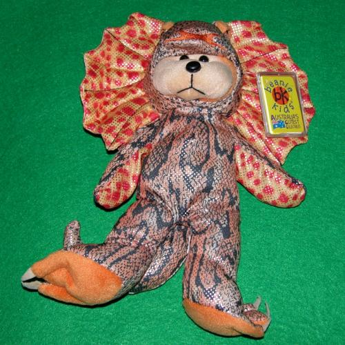 BEANIE KIDS - PRISCILLA THE LIZARD BEAR