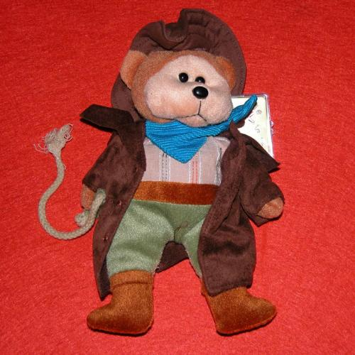 BEANIE KIDS - SHANNON THE STOCKMAN BEAR