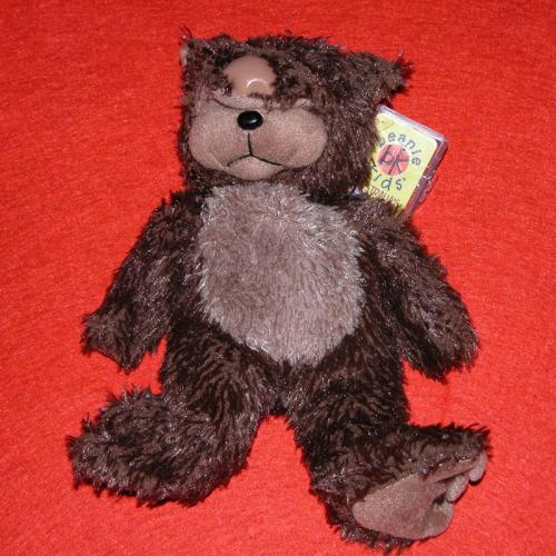 BEANIE KIDS - WAZZA THE WOMBAT BEAR
