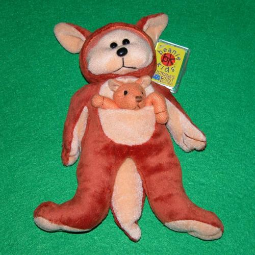 BEANIE KIDS - BOUNCER THE KANGAROO BEAR