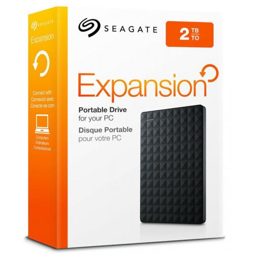 Seagate Expansion 2TB Portable External Hard Drive Disk 2.5
