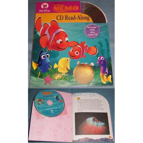 Disney Pixar FINDING NEMO CD and Read Along Book - NEW