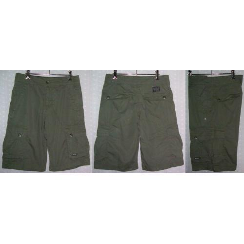 RIPCURL CARGO SHORTS Cotton - Colour: Fatigue - Mens Teens Size 30 - NWOT
