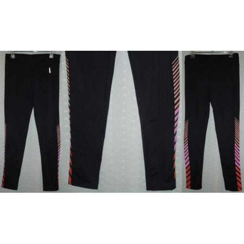 COTTON ON Brand Stretch BLACK Activewear Full Length LEGGINGS - Girls Size 13 - 14