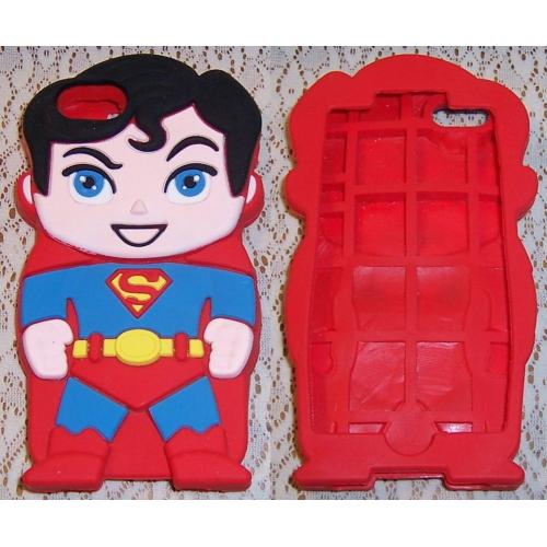 SUPERBOY iPOD TOUCH 5 COVER / SKIN - 1 Piece - Silicone Gel Rubber - NEW