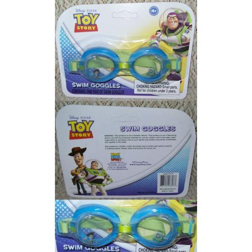 Disney Pixar TOY STORY SWIM GOGGLES - Suit 4   years - NEW in Pack