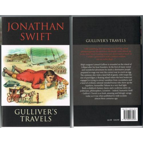 GULLIVER'S TRAVELS - Jonathan Swift - 2012 Paperback Book - NEW