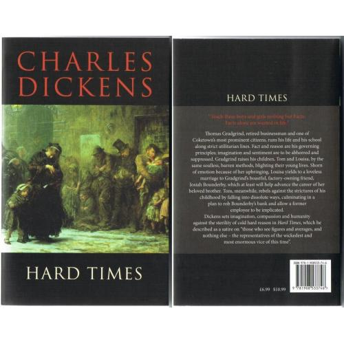 Charles Dickens - HARD TIMES - 2012 Paperback Book - NEW