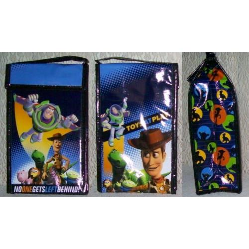 Toy Story REUSABLE INSULATED Soft LUNCH BAG - Lunch Tote - NEW