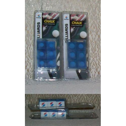 Sportcraft Billiard POOL Snooker CUE CHALK x 12 cubes - NEW