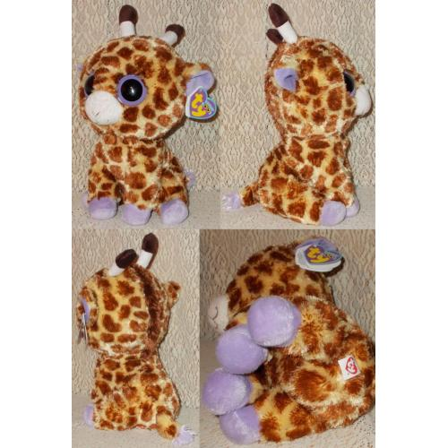 TY BEANIE BOO'S SAFARI GIRAFFE with Tags - Height 26cm - AS NEW