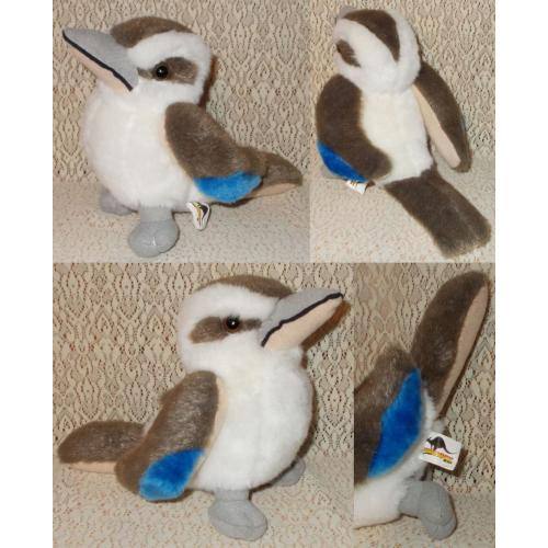 Jumbuck Australia KOOKABURRA - Plush Soft Toy - Height 17cm - NO SOUND