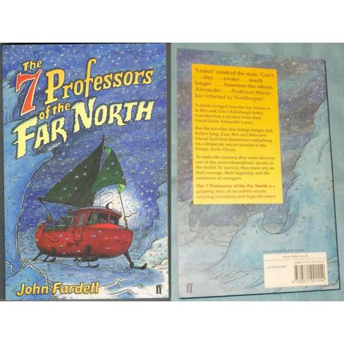 THE 7 PROFESSORS OF THE FAR NORTH - John Fardell - Paperback Book - NEW