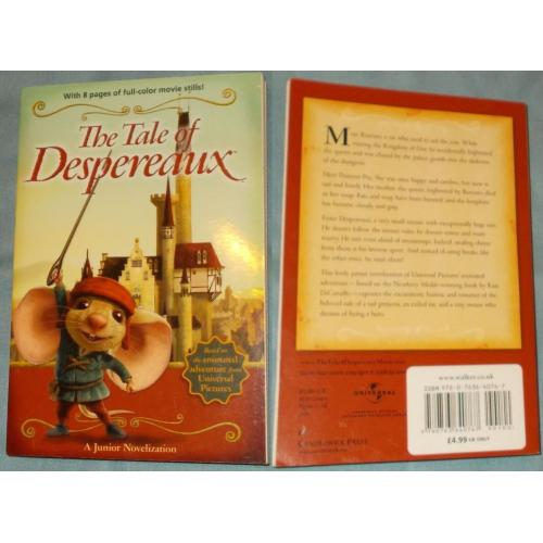 THE TALE OF DESPEREAUX - Jamie Michalak - Kate DiCamillo - Paperback Book - NEW