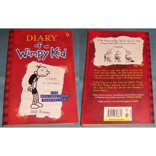 DIARY OF A WIMPY KID - a novel in cartoons - Jeff Kinney