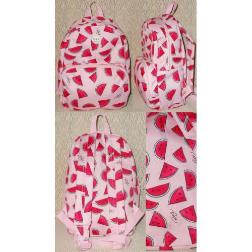 Quiksilver ROXY Girls BACKPACK - Pink with Watermelon Motifs - NWOT