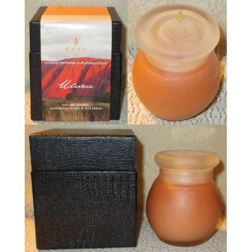 Dusk CANDLE ULURU - Boxed - up to 40 hour Burn Time - UNUSED