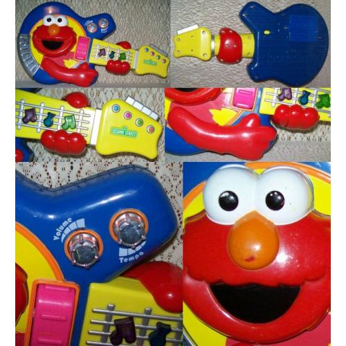 Fisher Price Mattel SESAME STREET JAM with ELMO GUITAR