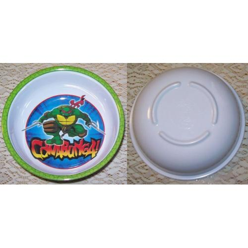 Teenage Mutant Ninja Turtles TMNT CEREAL Dessert BOWL Raphael - Cowabunga ! - NEW / Unused