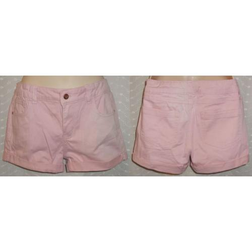 Just Jeans PINK STRETCH Cotton SHORTS - Girls Size 14
