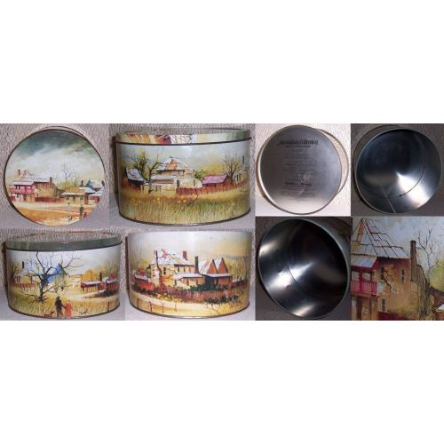 Vintage ARNOTT'S Biscuit TIN 900 g - AUSTRALIAN COLLECTION - ' Heritage ' by Maynard Waters