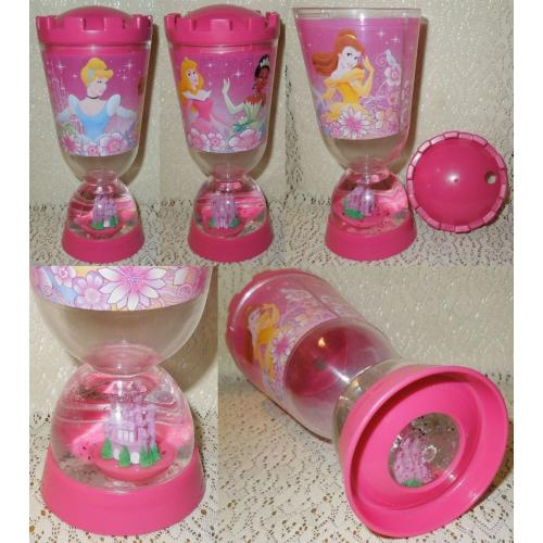 Disney PRINCESSES SIPPER DRINK CUP / MUG with Screw On Lid