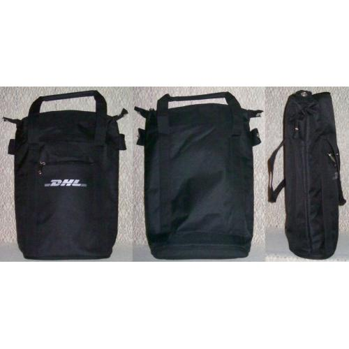 INSULATED BLACK Lunch DRINK Cooler CARRY BAG (DHL) - NEW / UNUSED